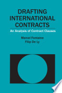 Drafting International Contracts