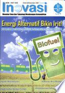 Inovasi Menebar Limu Dan Teknologi Membangun Kemandirian Energi Alternatif Bikin Irit! Regulasi Substitusi Bbm Selamatkan Krisis Energi