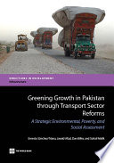 Greening Growth in Pakistan through Transport Sector Reforms