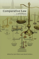 Comparative Law: A Handbook