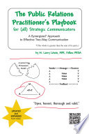 The Public Relations Practitioner s Playbook for  all  Strategic Communicators