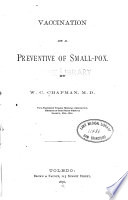 Vaccination as a Preventive of Small-pox