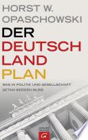 Der Deutschland Plan