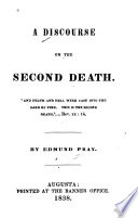A Discourse On The Second Death : ...