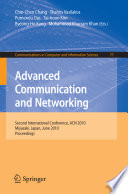 Advanced Communication And Networking book