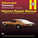 Chevrolet Camaro V8