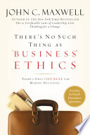 There s No Such Thing as  Business  Ethics