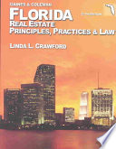 Florida Real Estate Principles  Practices   Law