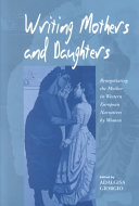 Writing Mothers and Daughters