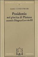 Posidonio nei placita di Platone secondo Diogene Laerzio III