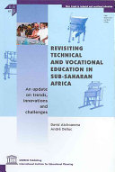 Revisiting Technical And Vocational Education In Sub Saharan Africa