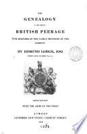 The genealogy of the existing British peerage