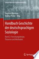Handbuch Geschichte der deutschsprachigen Soziologie
