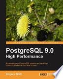 PostgreSQL 9 0