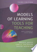 Models Of Learning  Tools For Teaching