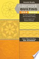 Rulerwork Quilting Idea Book Book PDF