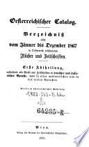 Österreichischer Catalog