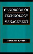 Handbook of technology management
