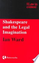 Shakespeare and the Legal Imagination