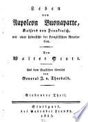 Leben von Napoleon Buonaparte