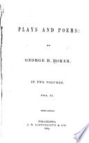 Plays  The bethrothal  The widow s marriage  Poems
