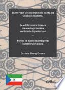 illustration Las formas del matrimonio bantú en Guinea Ecuatorial.