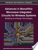 Advances in Monolithic Microwave Integrated Circuits for Wireless Systems  Modeling and Design Technologies
