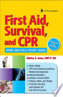 First Aid  Survival  and CPR