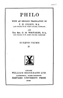 philo-questions-and-answers-on-exodus-trans-by-ralph-marcus