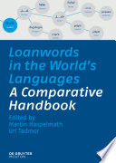 Loanwords in the World's Languages A Comparative Handbook