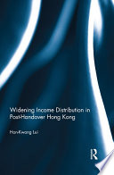 Widening Income Distribution in Post Handover Hong Kong