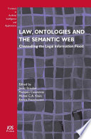Law  Ontologies and the Semantic Web