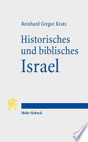 Historisches und biblisches Israel