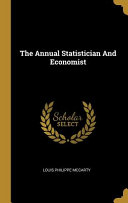 The Annual Statistician And Economist Book PDF