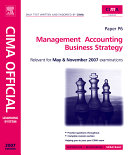 Cima Learning System 2007 Management Accounting Business Strategy