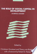 The Role of Social Capital in Development