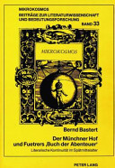 """Der Münchner Hof und Fuetrers """"Buch der Abenteuer"""""""