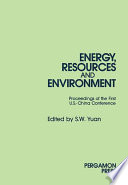Energy  Resources and Environment