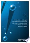 Eine Methode zur Unterstuetzung der disziplinuebergreifenden Zusammenarbeit in der Produktentwicklung auf Grundlage einer integrierten Visualisierung konzeptioneller Modelle