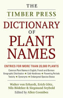 illustration The Timber Press Dictionary of Plant Names