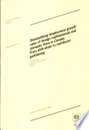 Standardising Employment Growth Rates of Foreign Multinationals and Domestic Firms in Canada