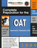Complete Preparation for the OAT  1999