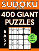 Sudoku Book 400 Easy Giant Puzzles