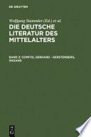 Comitis, Gerhard - Gerstenberg, Wigand