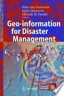 Geo information for Disaster Management