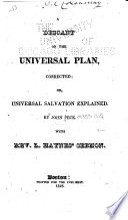 Ebook A Descant on the Universal Plan Corrected Epub John Peck Apps Read Mobile