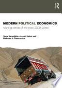 Modern Political Economics