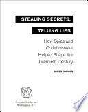 download ebook stealing secrets, telling lies pdf epub