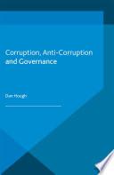 Corruption  Anti Corruption and Governance