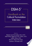 DSM 5   Handbook on the Cultural Formulation Interview Book PDF